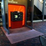 Commercial Atlantic Station suntrust color concrete