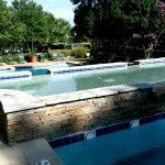 Pool deck residential
