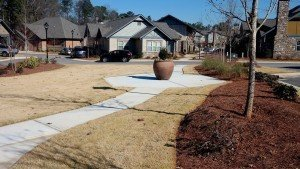 Residential Project (sidewalks and common areas) at Atlanta GA