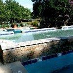Pool deck residential