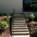 University of Georgia  Concrete Steps & granite retaining walls  Turner Construction Company